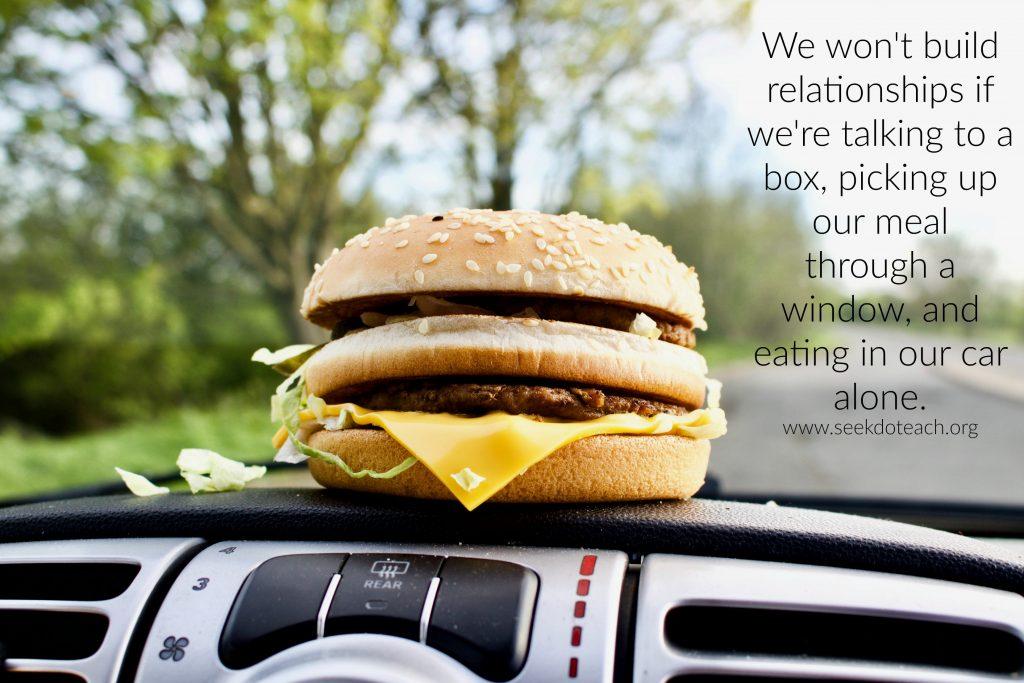 fast food craving